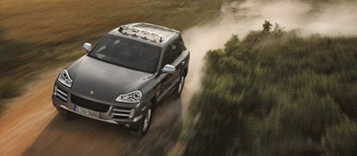 Porsche Ag Cayenne S Entering The Market In Transsyberia