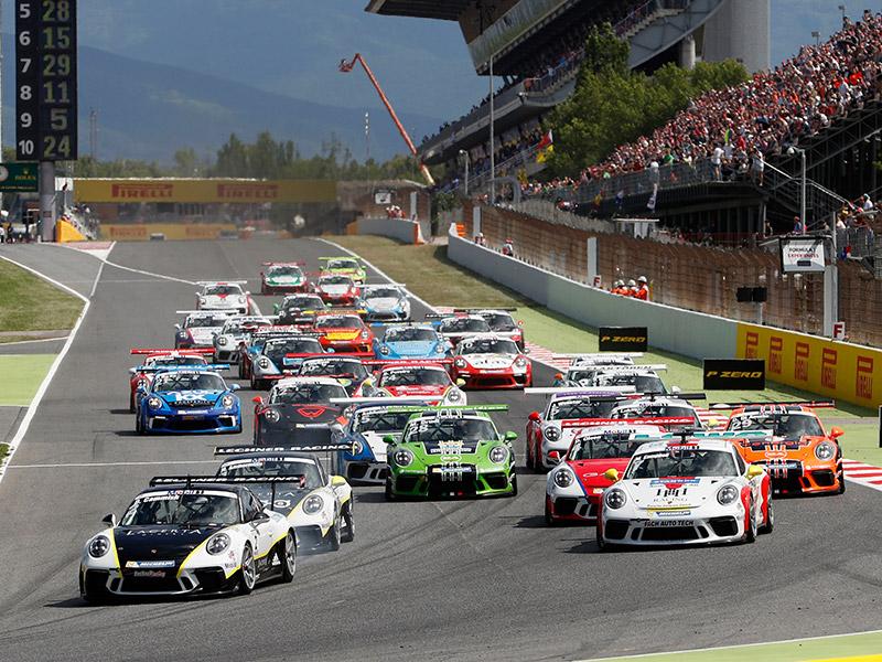 Porsche Race activities -  Mobil 1 Supercup