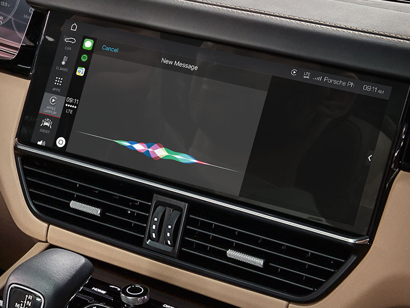 News with Porsche Apple CarPlay