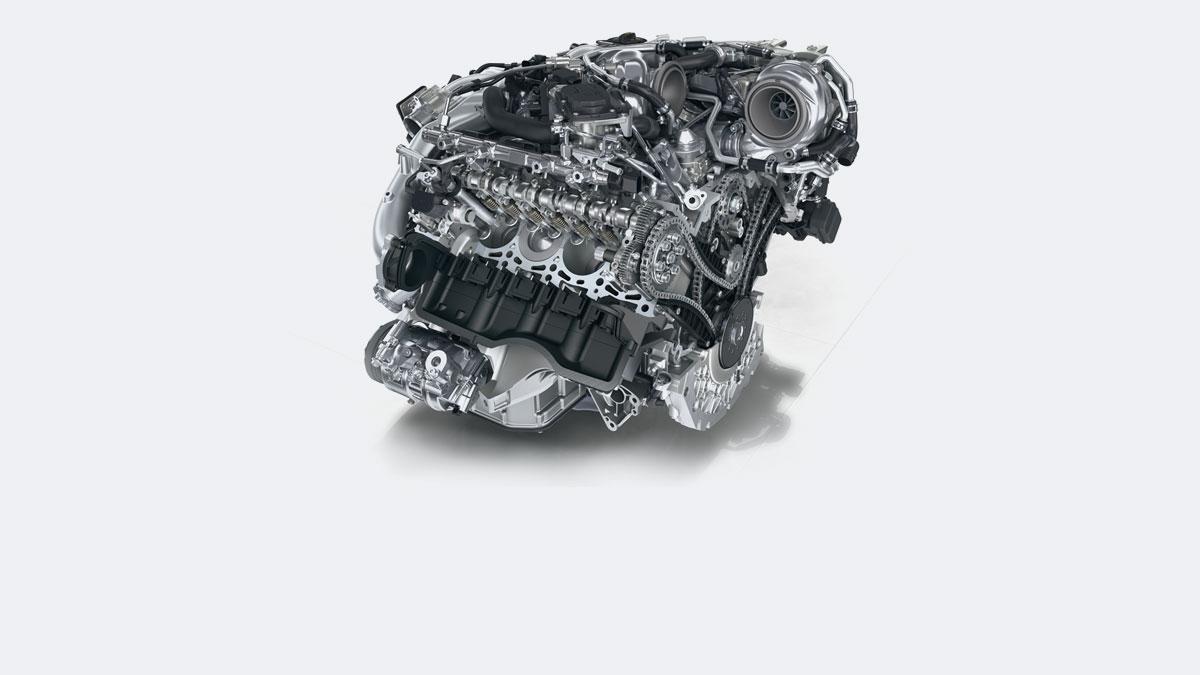 Porsche - Engine: Change needs force.