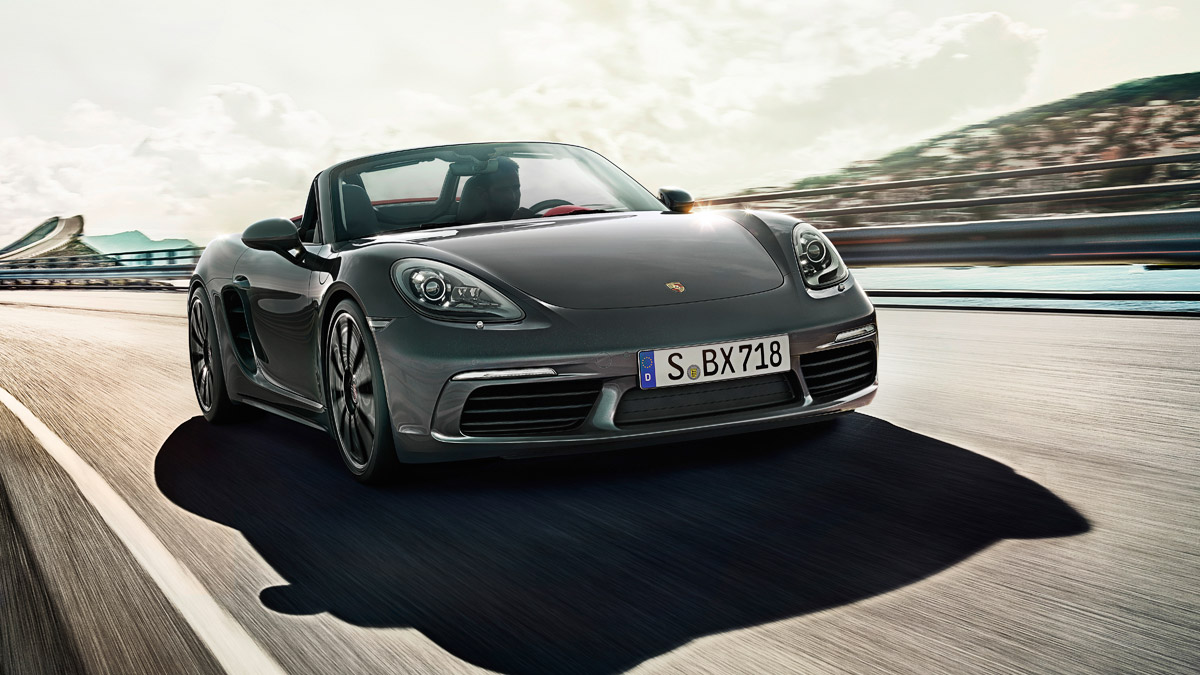 Porsche - Power and efficiency: increased.