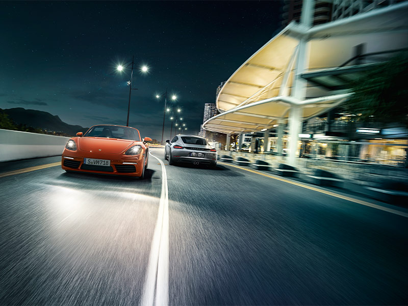 Porsche The new 718 Boxster - The principle of the mid-engined sports car