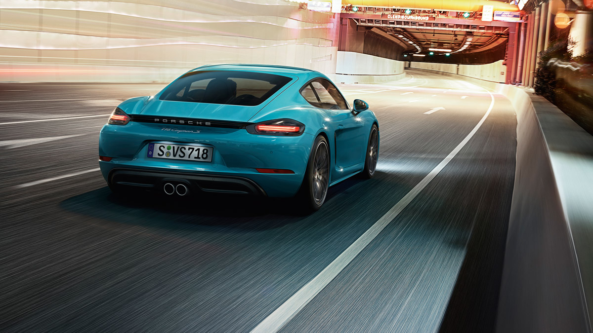 Porsche - Sound:  typically Porsche.