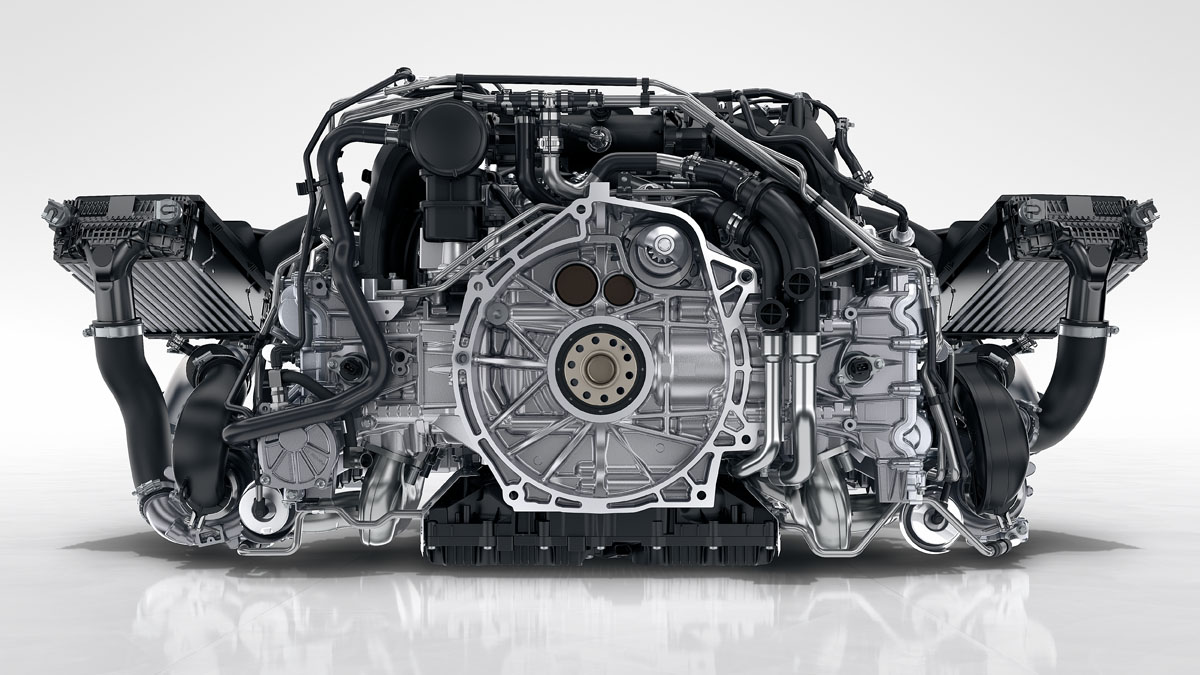 Porsche - Power and efficiency: increased