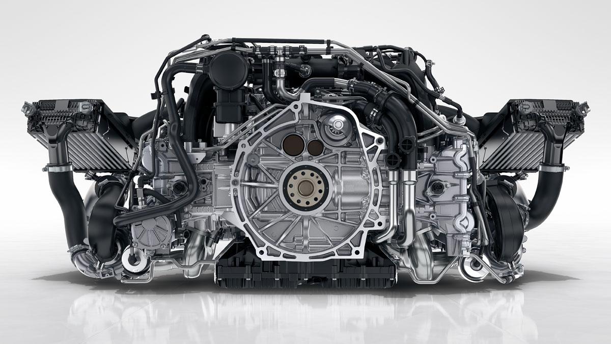 Porsche - Potencia y eficiencia: incrementadas