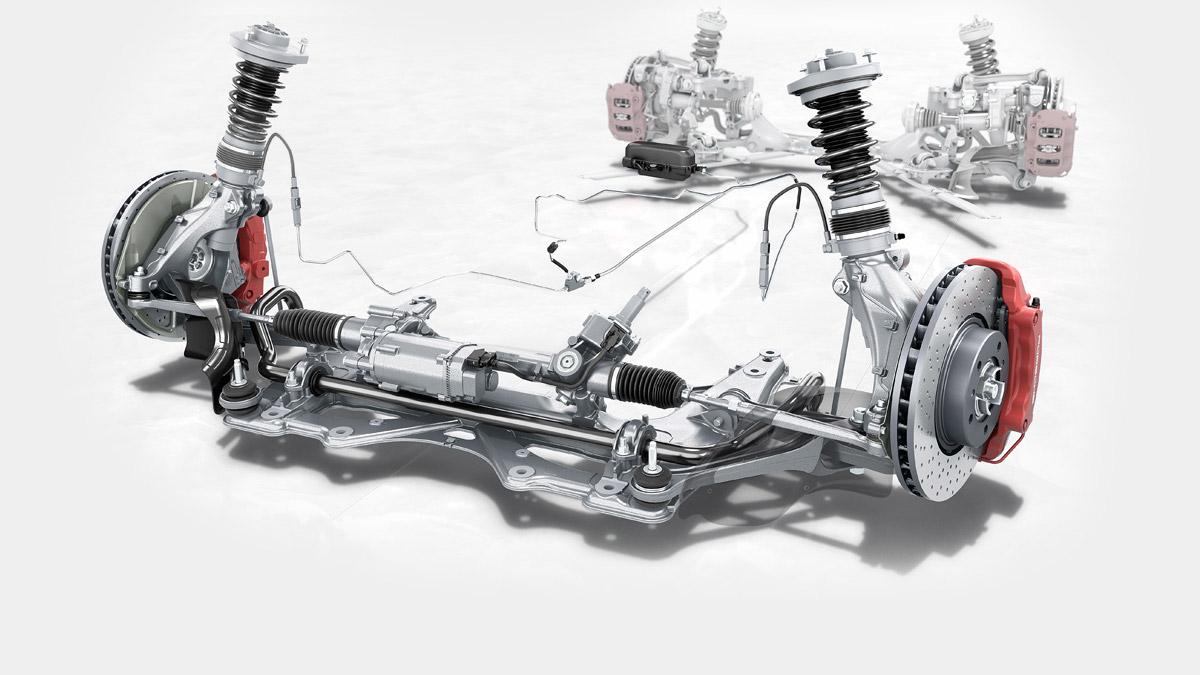 Porsche - Chassis: comfortable