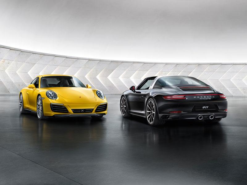 Porsche 911 Carrera 4 - Microsite interactif