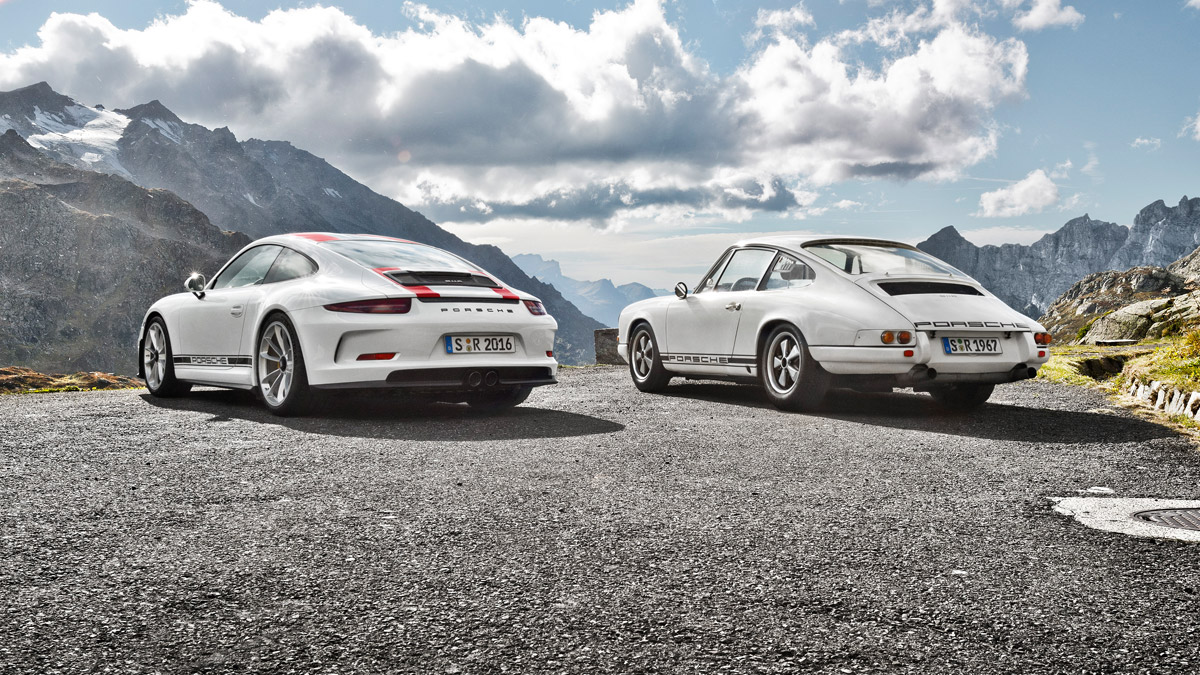 Porsche - 911 R: A thoroughbred nine eleven.