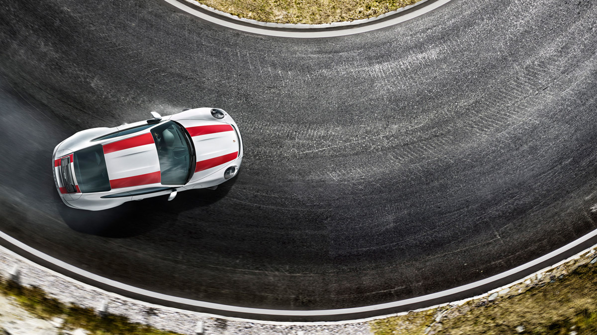 Porsche - Driving dynamics: High culture, lowered.