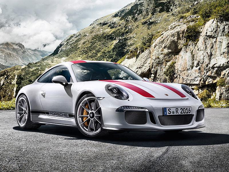 Porsche 911 R - Interactive Microsite