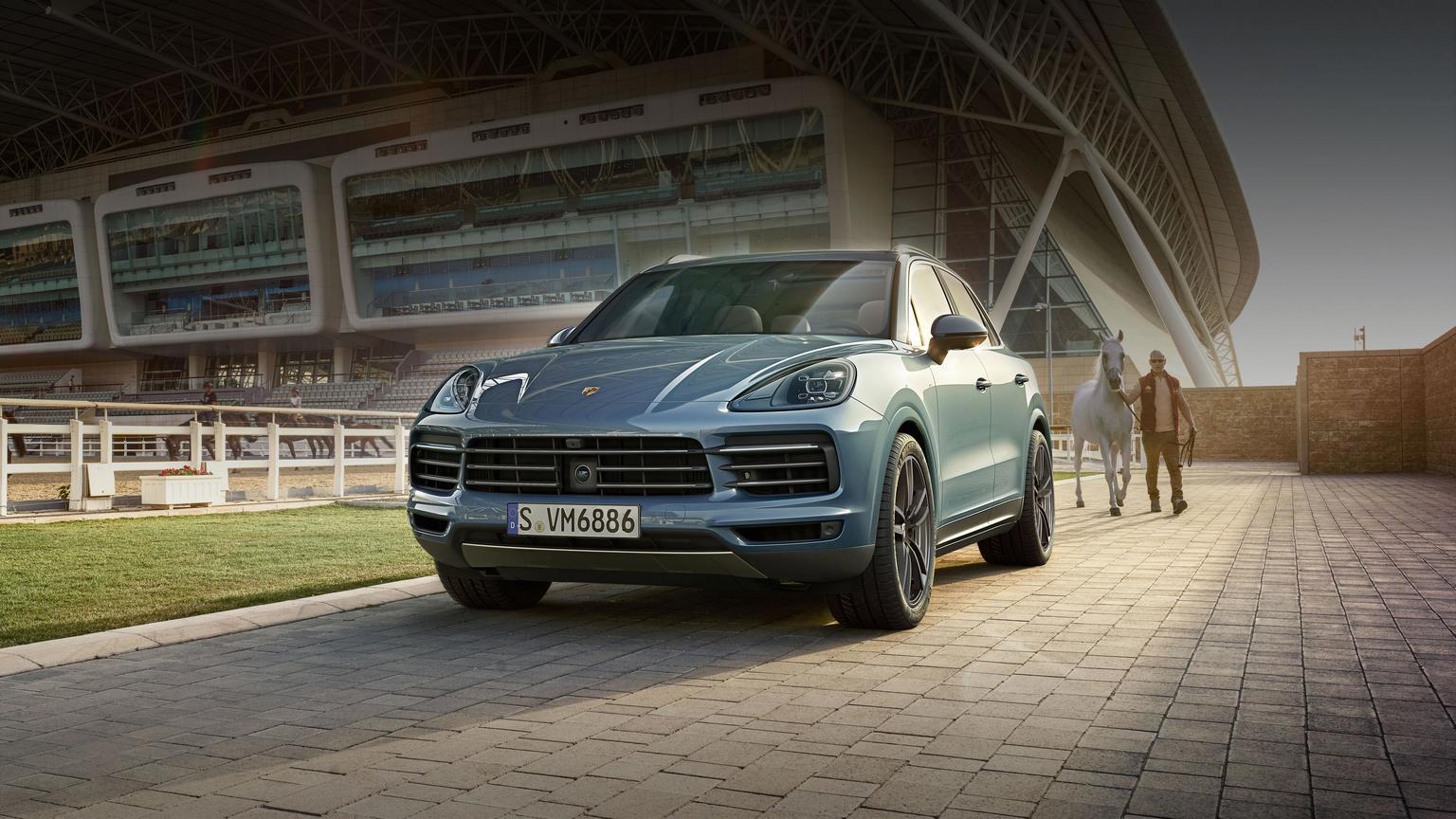 Porsche - Cayenne Turbo -