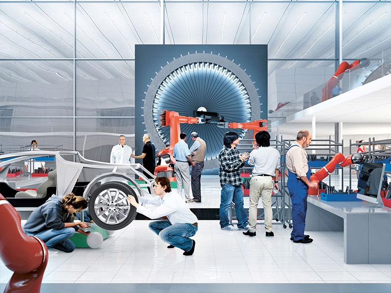 Porsche Kreativer Austausch mit Start-Up-Unternehmen