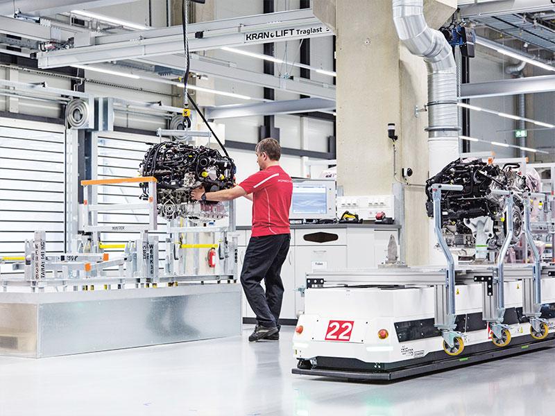Porsche Die Zukunft der Fabrikarbeit