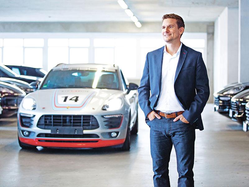 Porsche Ich bin drei, vier, viele