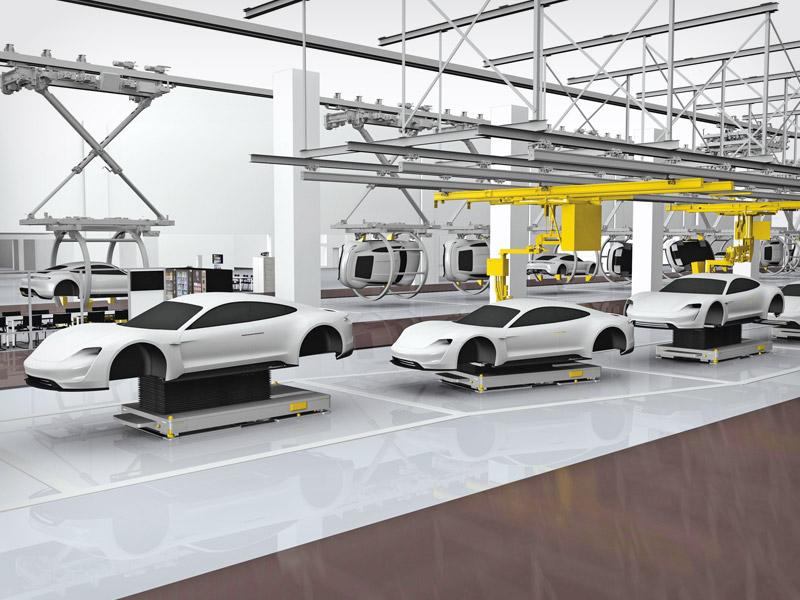Porsche Produktion 4.0