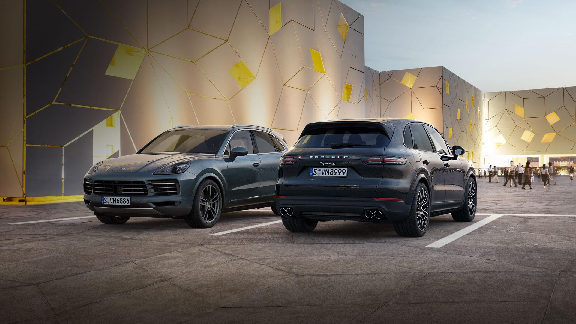 Porsche - Nowe Porsche Cayenne. - Moc wspólnych wrażeń.