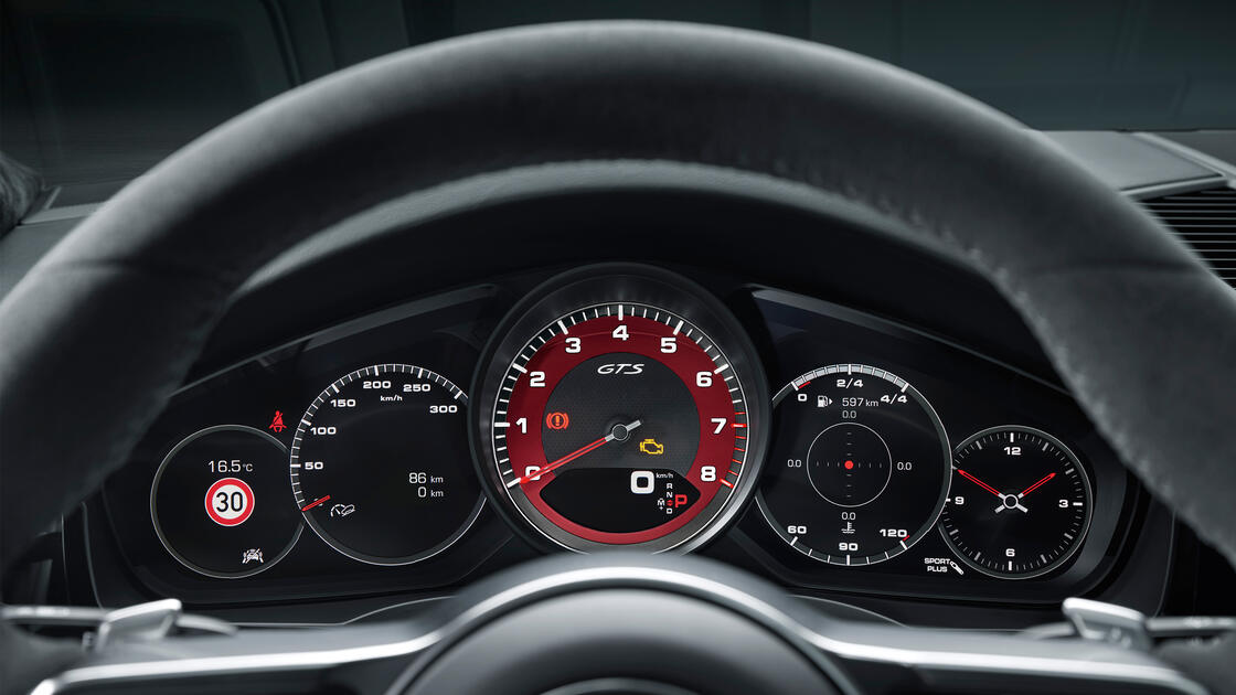 Porsche - Cayenne GTS  - Suutlikkus.