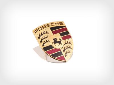 Porsche Original Porsche Crest Porsche Ag