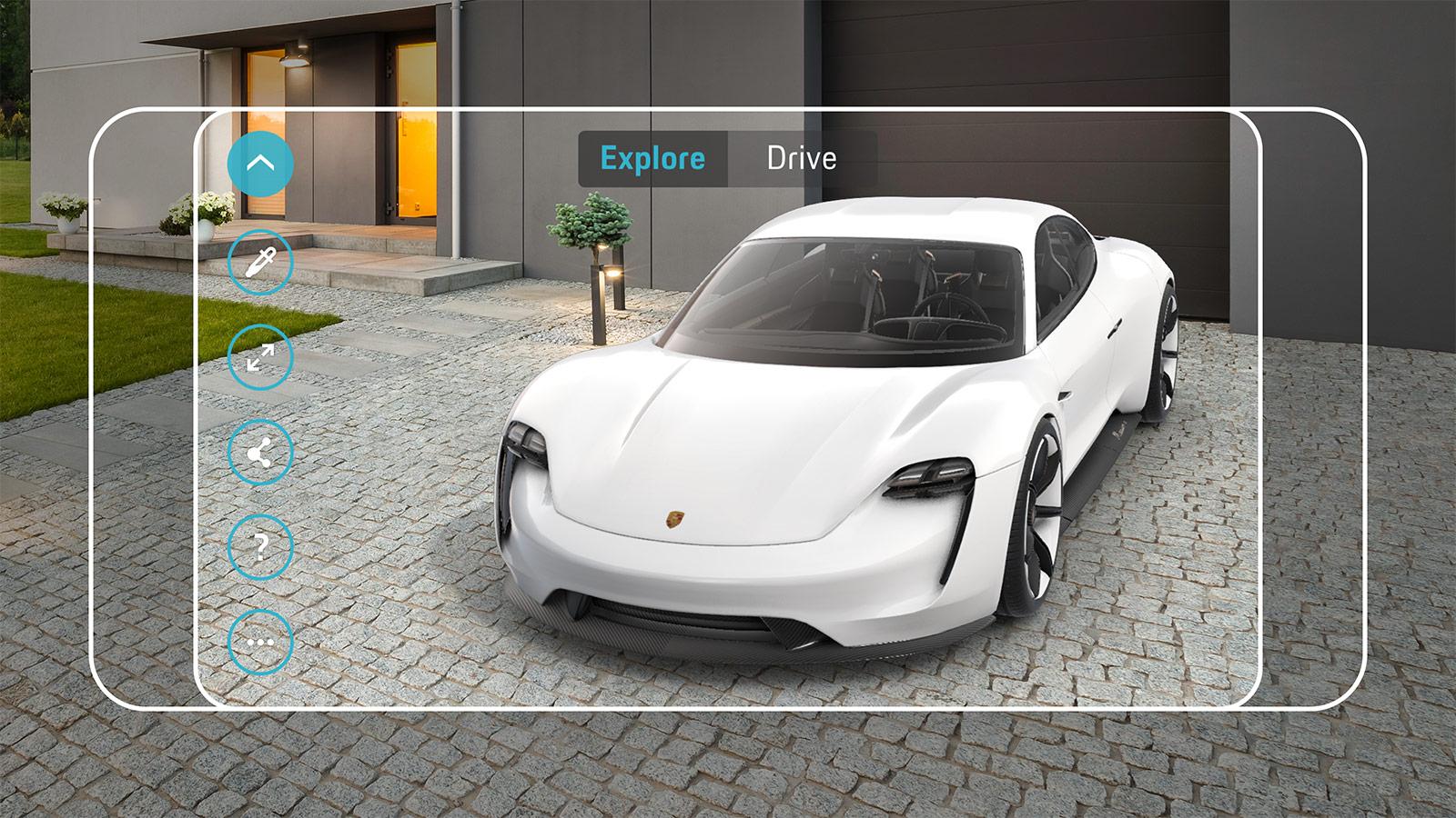 Porsche Le futur à portée de main.
