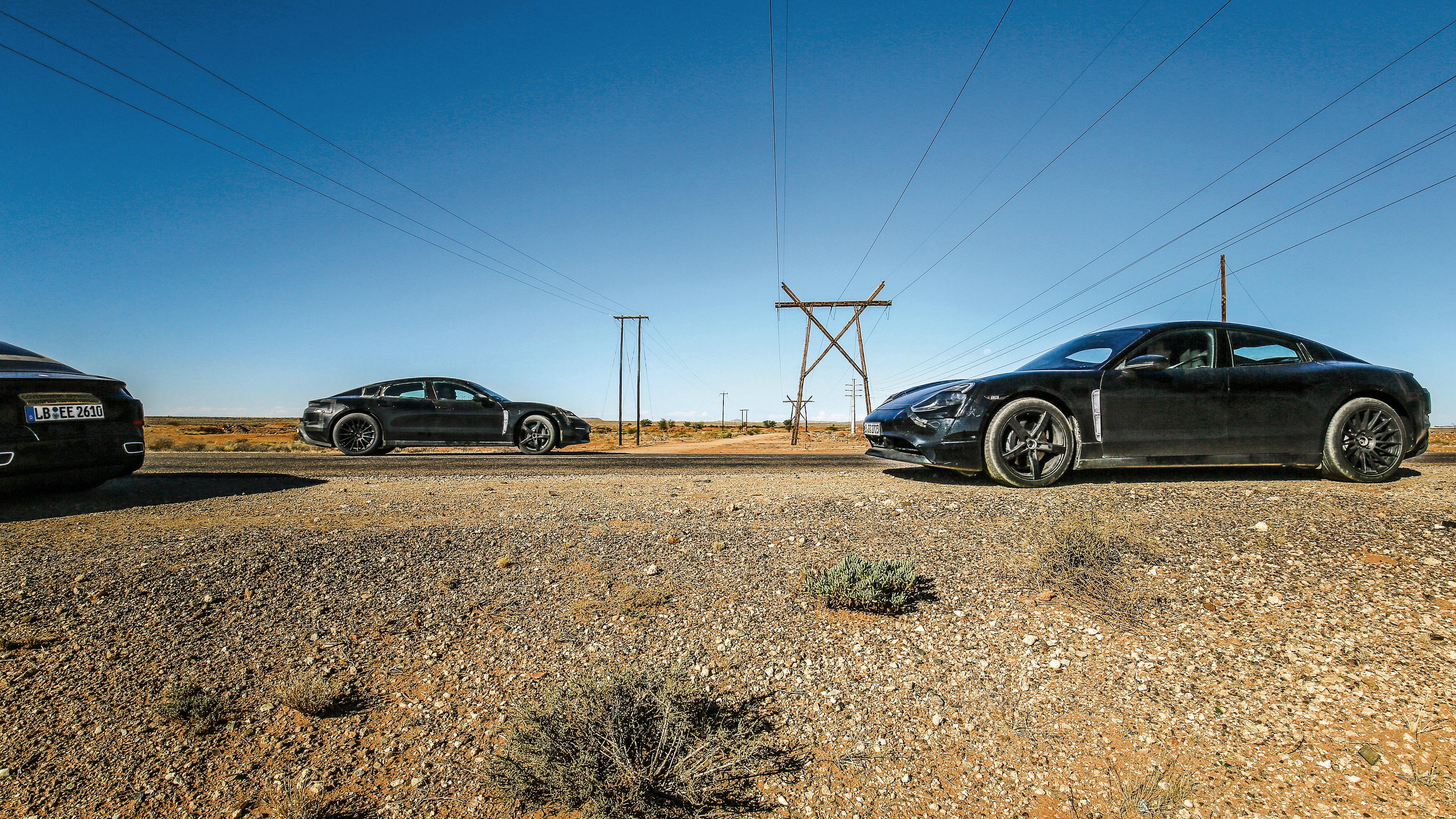 Porsche Desert Testing