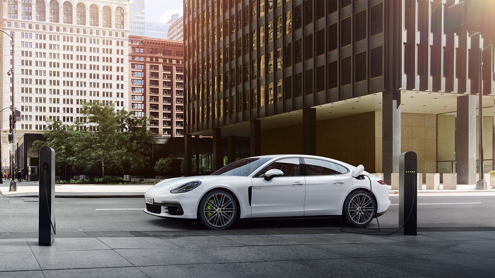 Porsche Modes de recharge