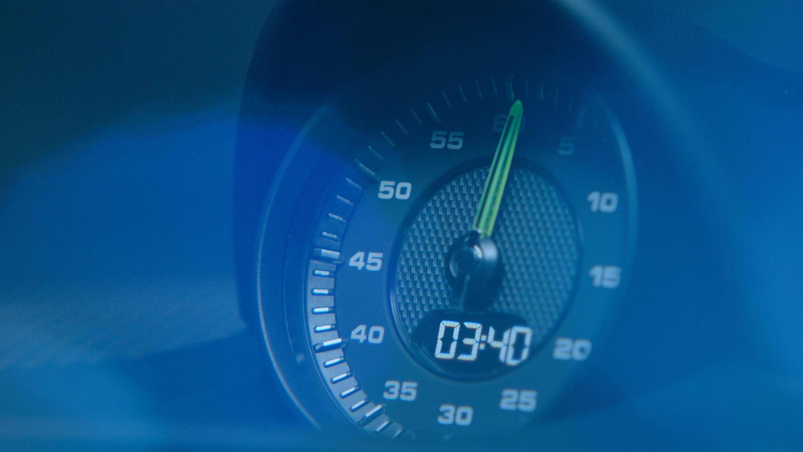 Porsche 3,4 secondes
