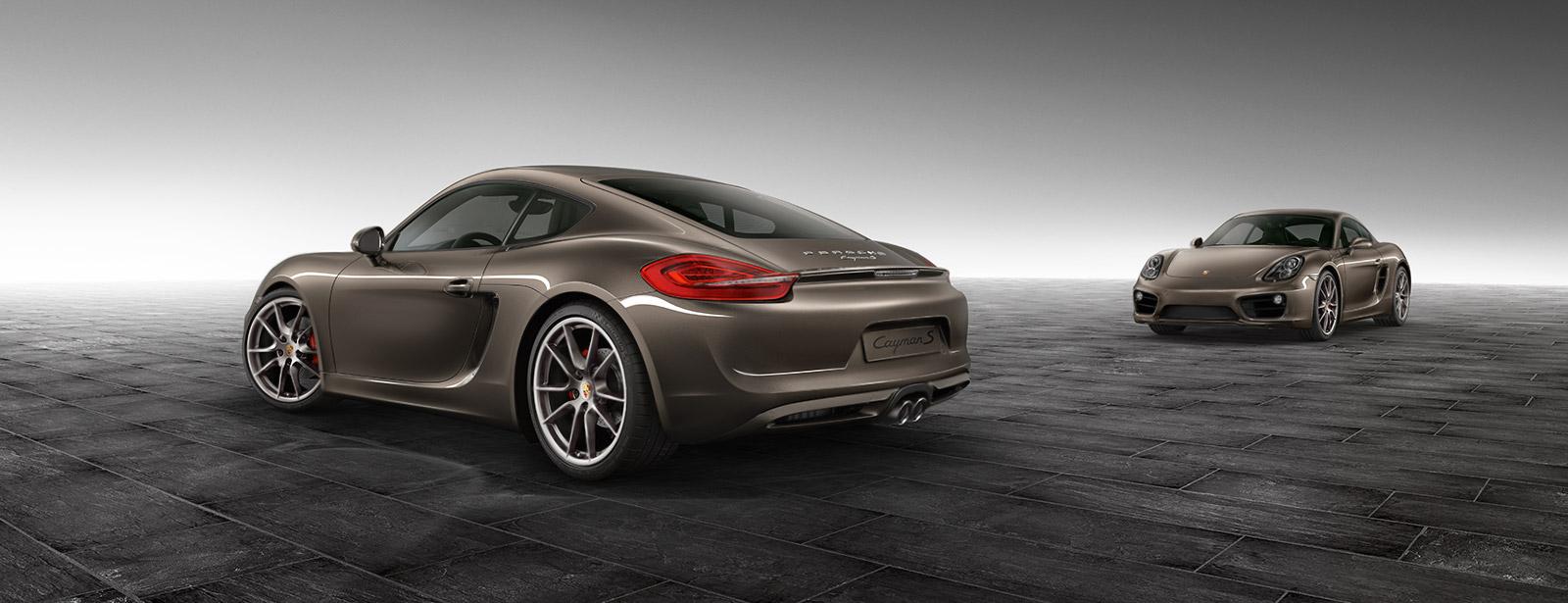 Porsche Experience Center >> Cayman S Anthracite Brown Metallic - Cayman - Exclusive - Dr. Ing. h.c. F. Porsche AG