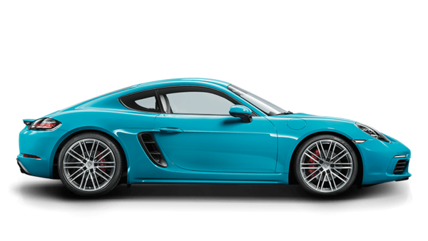 Porsche The new 718 Cayman S - Technical Specs