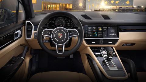 porsche the new cayenne turbo models