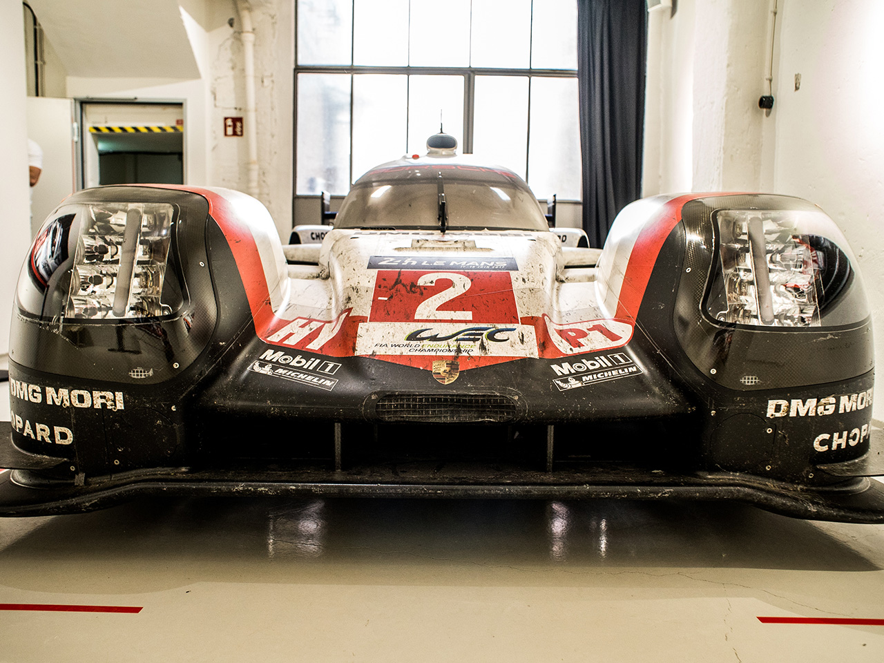 Porsche Le Mans photographs exhibited in Stuttgart