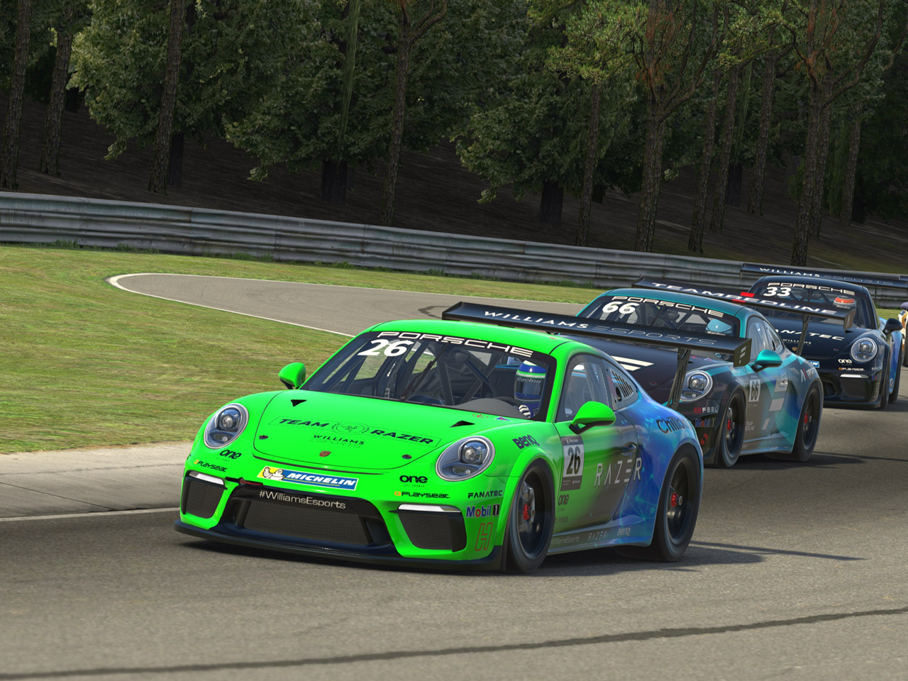 Porsche Porsche Esports Supercup. The next level of motorsports.