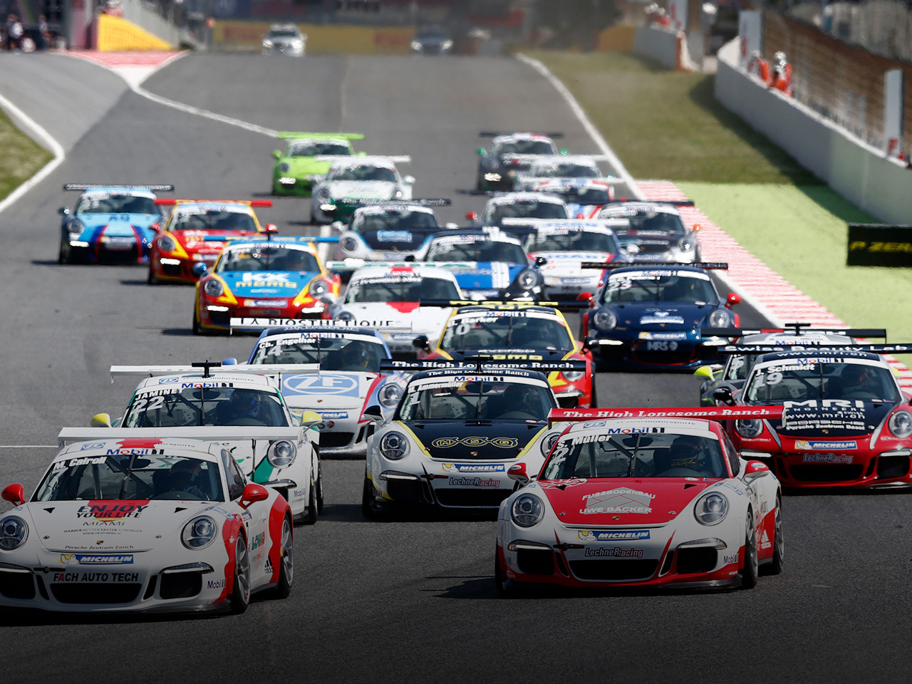 Porsche 25 years of Porsche Supercup.