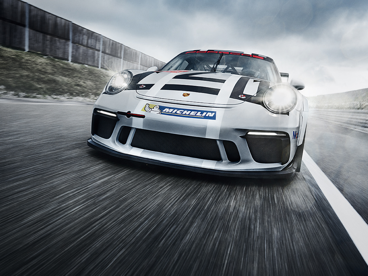Porsche The new 911 GT3 Cup. Born in Flacht.