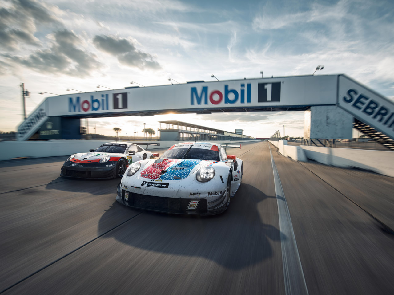 Porsche Sebring Double Header 2019. Doppelte Rennaction in Florida.