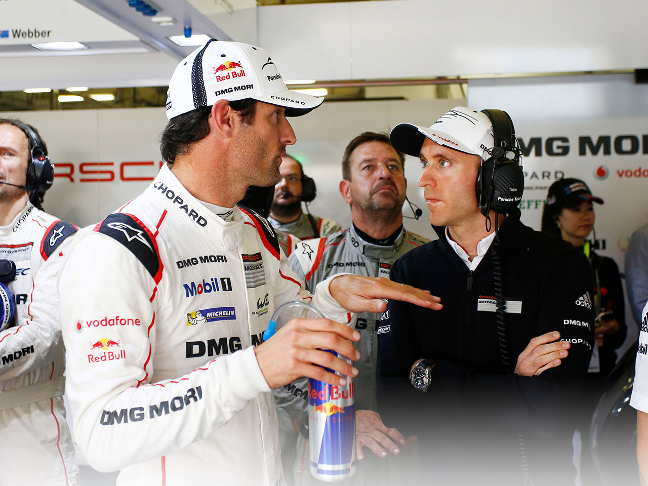 Porsche Mark Webber explains