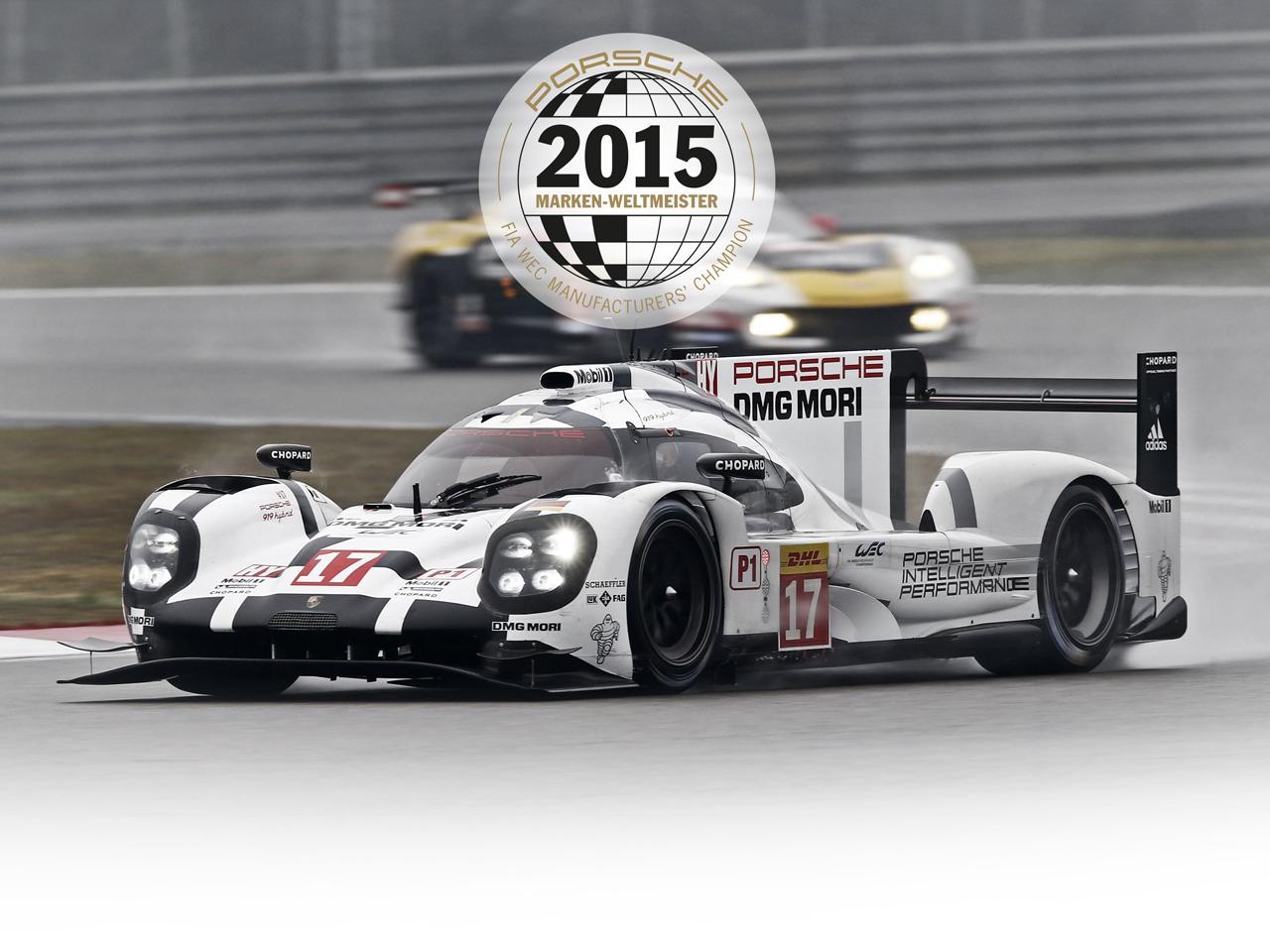 Porsche FIA WEC 6h of Shanghai: Porsche holt Hersteller-WM mit weiterem Doppelsieg