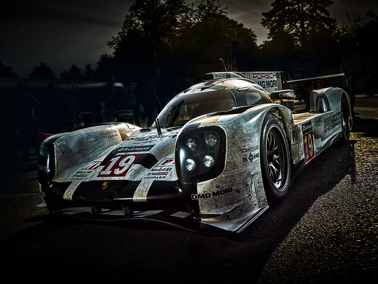 Porsche The Mission Future Sportscar: For the moment
