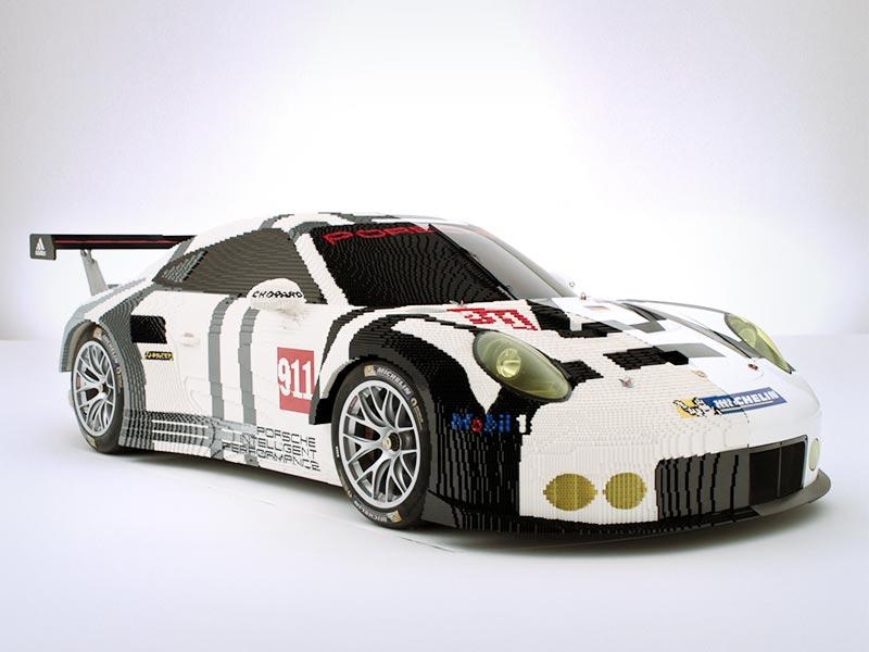 Porsche Lego and Porsche