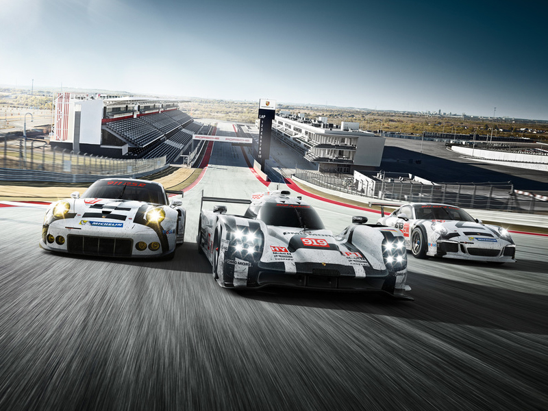 Porsche The Porsche Motorsport pyramid