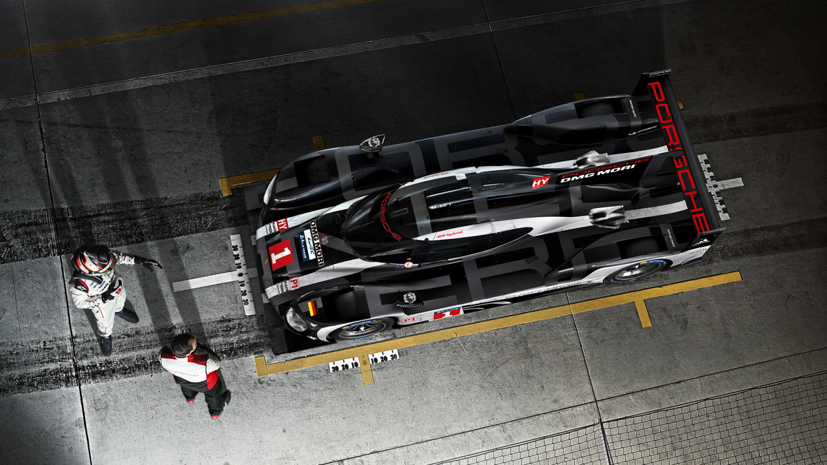 Porsche - 919 Hybrid The racing lab for our visions