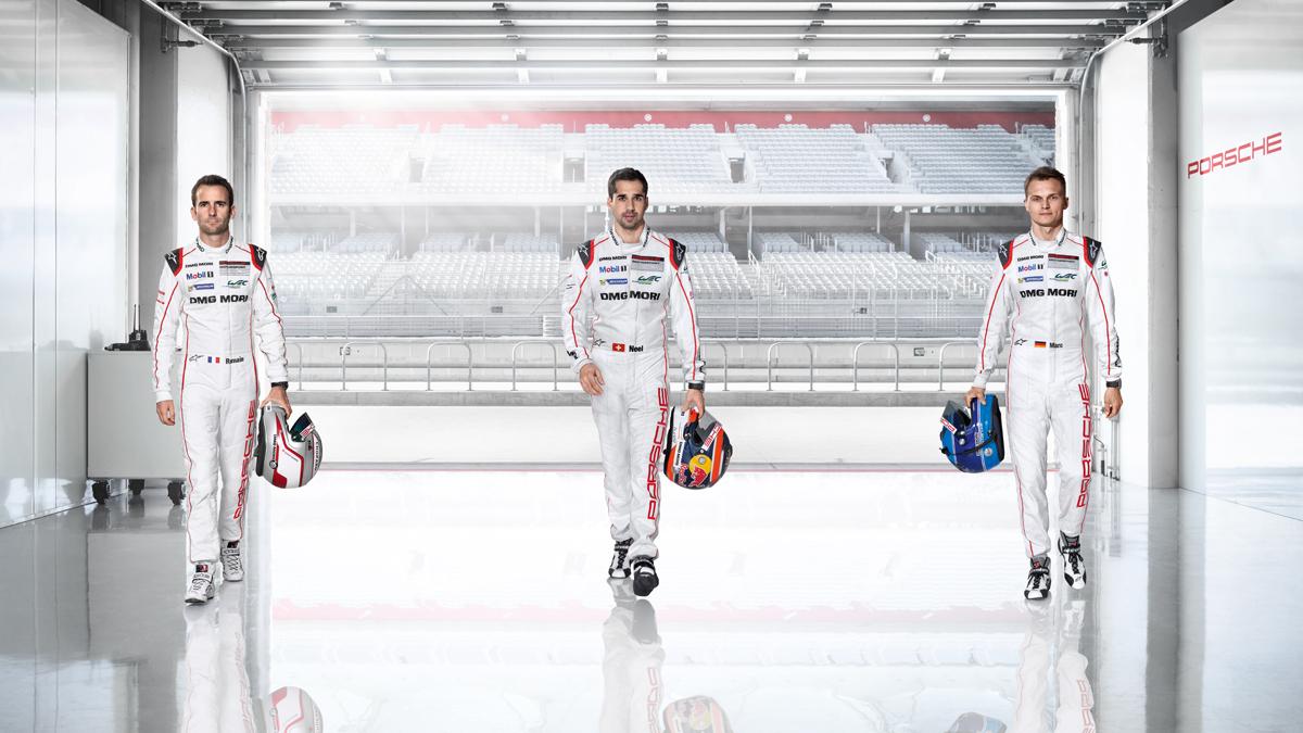 Porsche - 919 Hybrid #2 – The drivers Dumas, Jani, Lieb