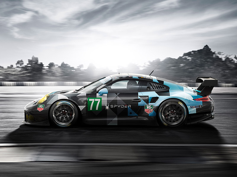 Porsche Patrick Dempsey: Ready for the FIA WEC 2015