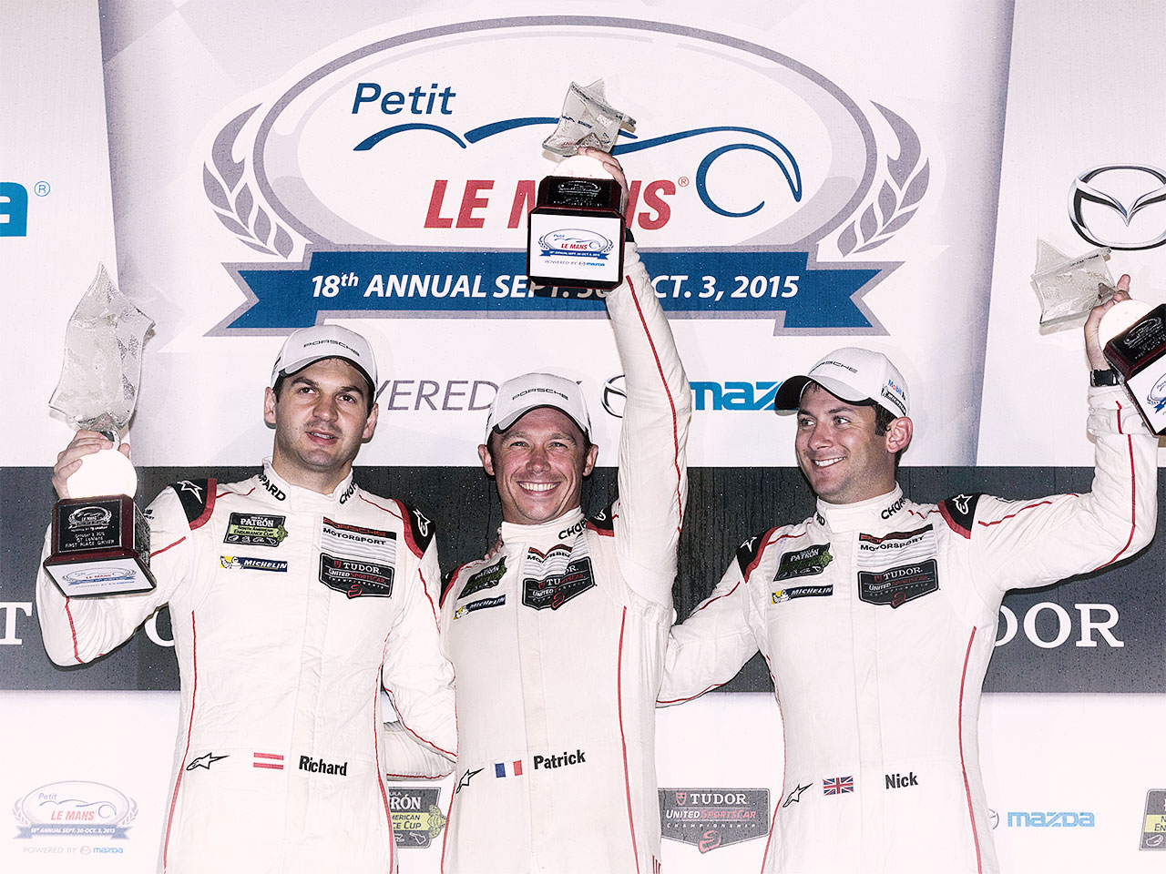 Porsche Porsche wins Petit Le Mans and all GT championship titles