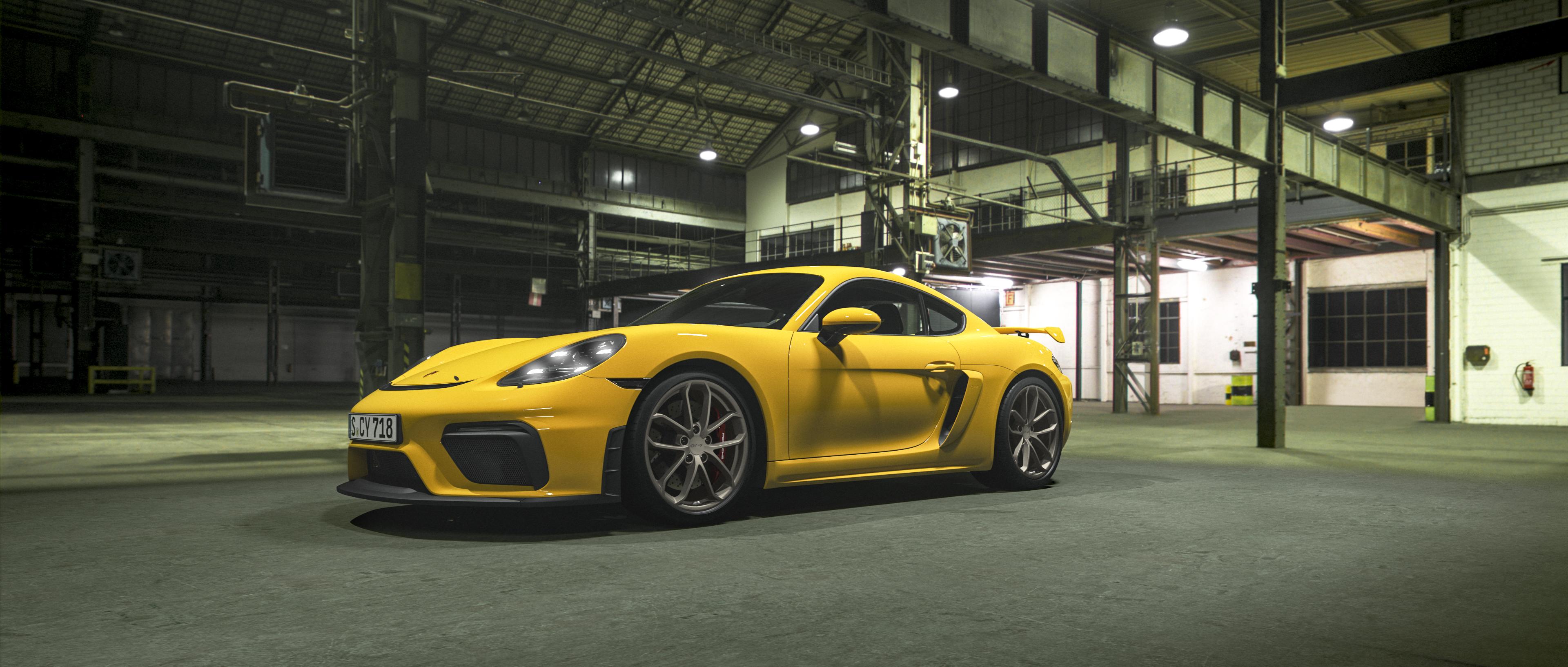 Porsche 718 Cayman Gt4 Porsche Ag