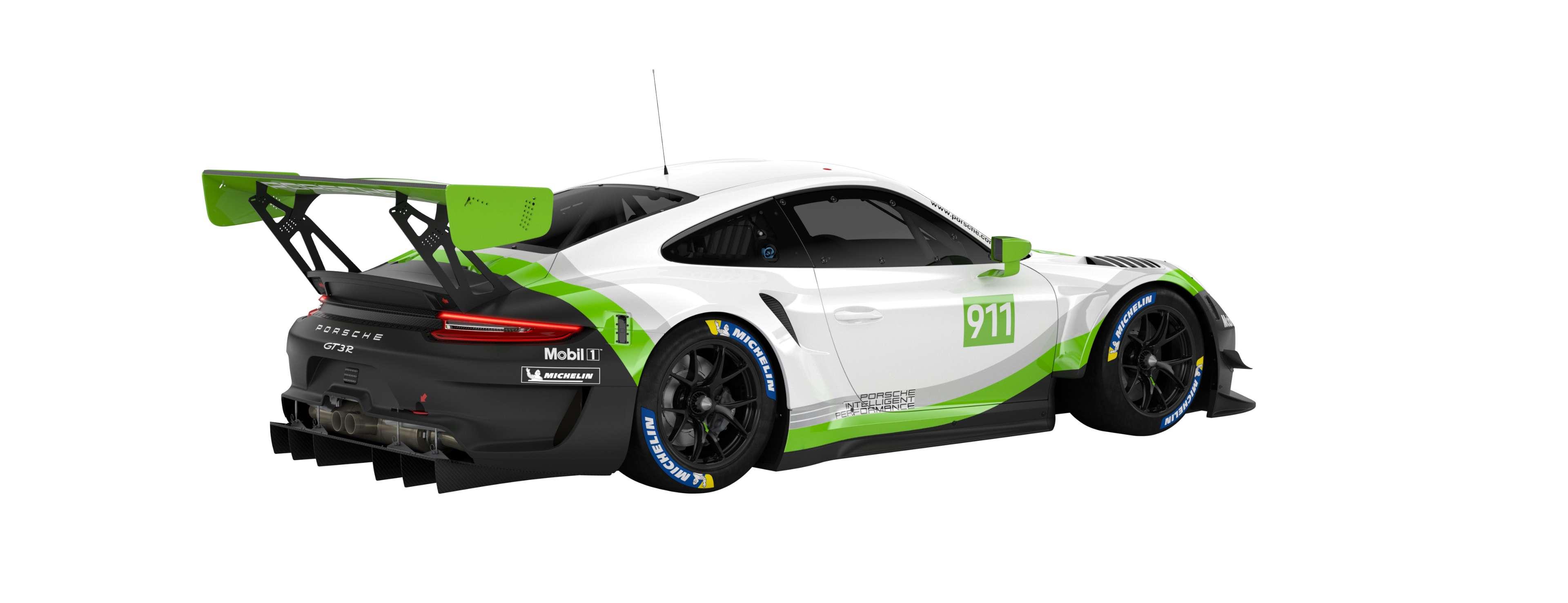 Porsche 911 Gt3 R 2019 Porsche Ag
