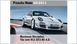 Porsche News Brochure -  News 02/2011