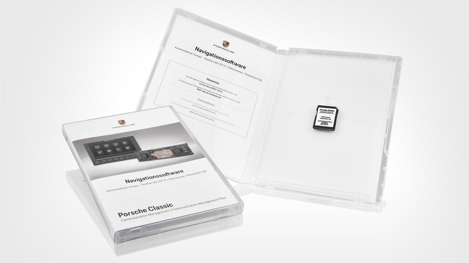 Porsche - Navigation software