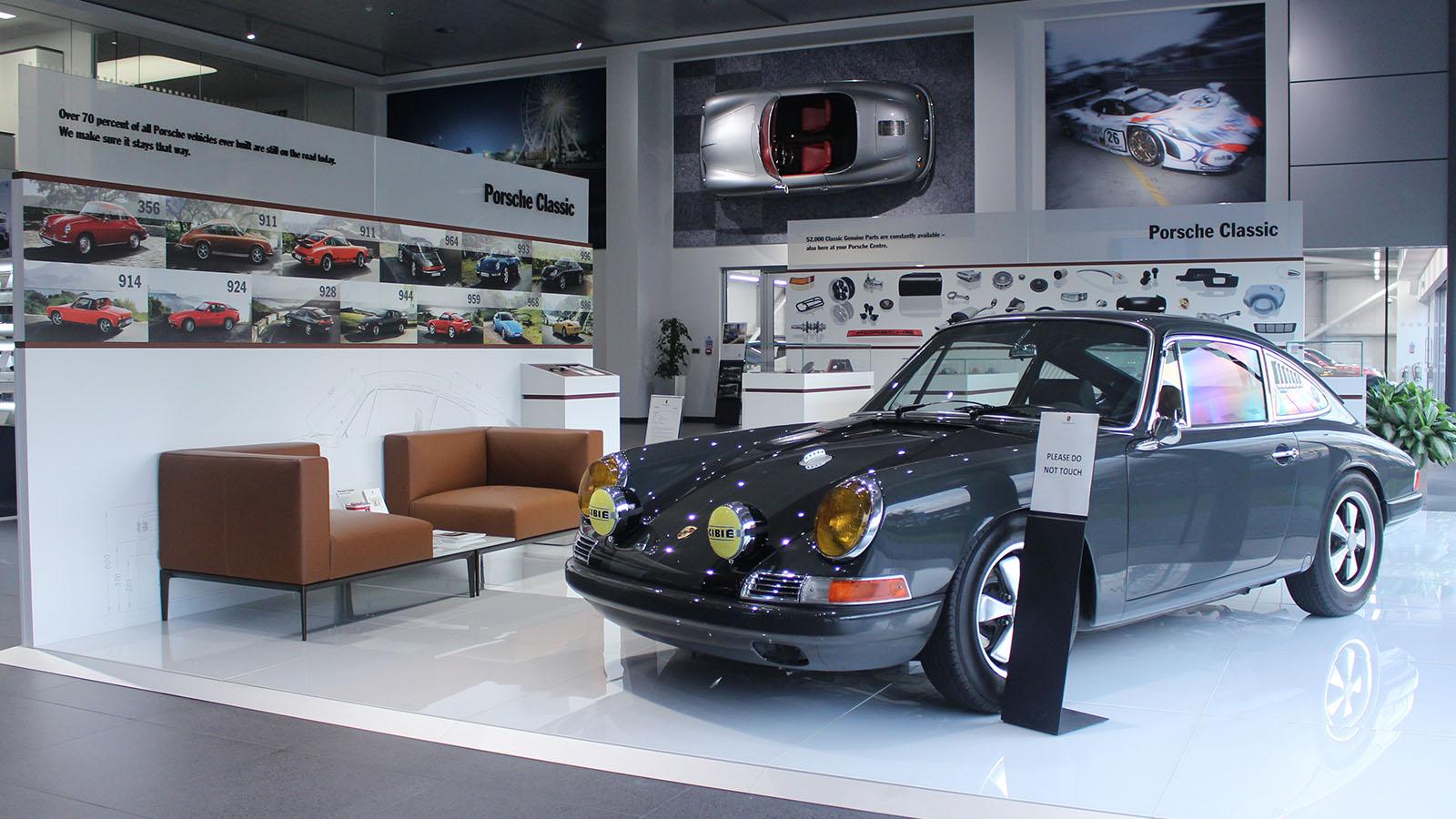 Porsche - Порше Центр Суиндон