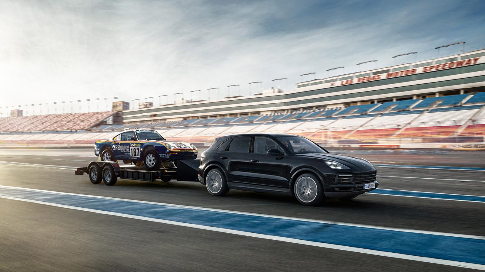 Porsche - Доставка на обслуживание и обратно