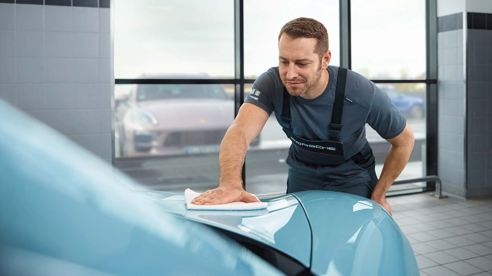 Программа Porsche Dynamic Repair
